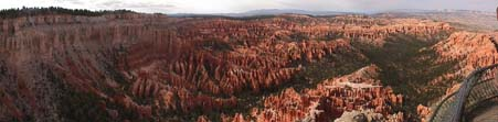 panorama of Bryce