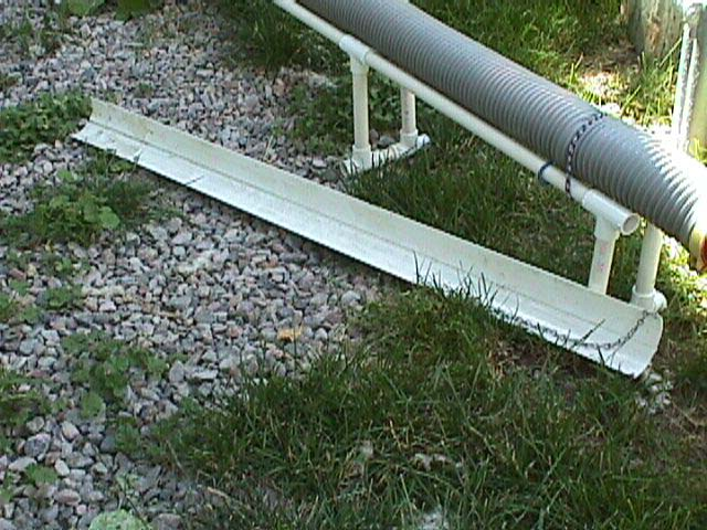RV Travel Report on Sewer-hose Supports